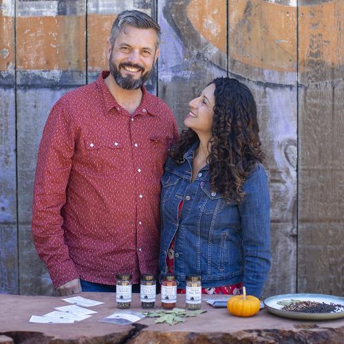 John Beaver and Erica Perez Oaktown Spice Shop